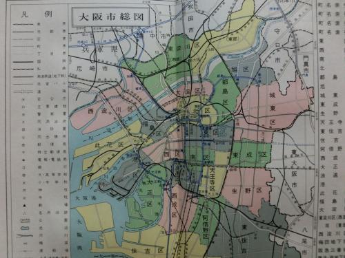 22区時代の大阪
