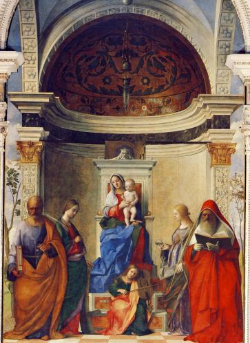 ベッリーニ「サン・ザッカリア祭壇画」