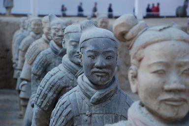 兵馬俑(陝西省始皇帝陵)