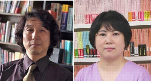 越前敏弥さん(左)/佐々木日向子さん(右)
