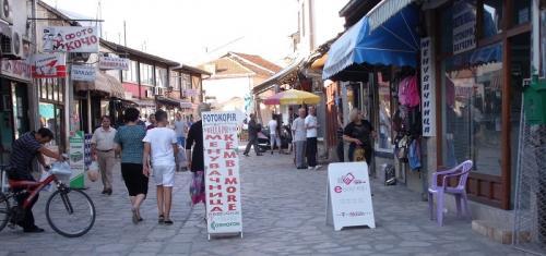 スコピエ旧市街(北マケドニア)