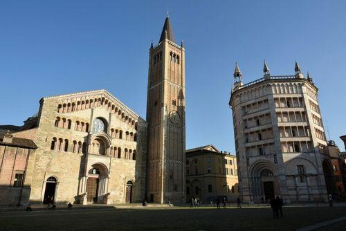 パルマの大聖堂と洗礼堂