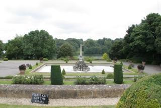 Blenheim Palace(ブラウンの庭)