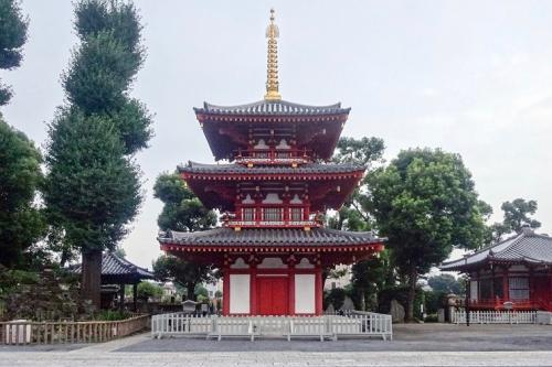 宝仙寺三重塔跡