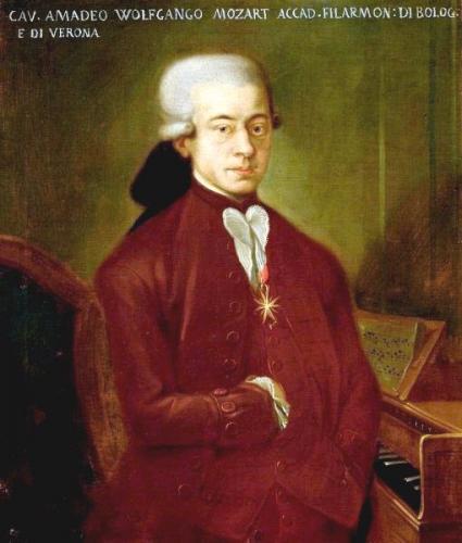 ボローニャのモーツァルト」と呼ばれる肖像画 1777年