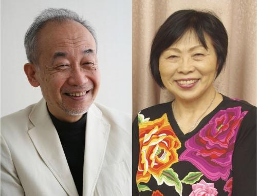 萩原優さん(左)中森じゅあんさん(右)
