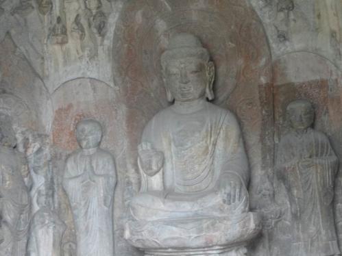 阿弥陀如来 龍門石窟(中国)