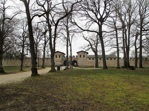 ローマ帝国の国境要塞ザールブルク