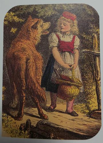 「赤ずきん」ルドルフ・ガイスラー(1872)