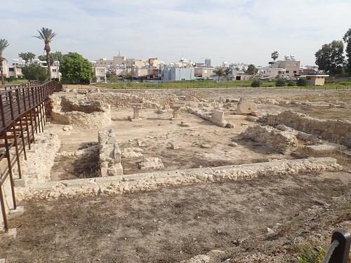 キティオン遺跡のアフロディテ=アシュタルテ神殿