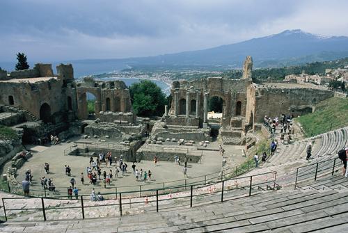 古代ギリシャ劇場址