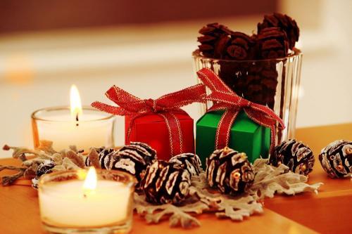 クリスマス気分を楽しもう!