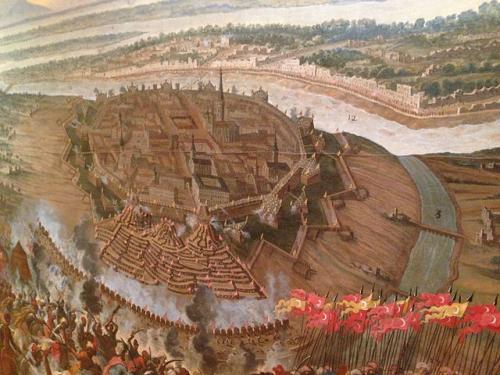 1683年ウィーン救援戦(Entsatzschlacht von Wien 1683. Frans Geffels)