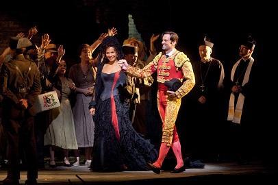 「カルメン」よりⓒMarty Sohl/Metropolitan Opera