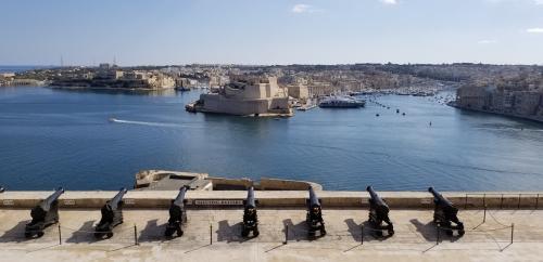 聖ヨハネ騎士団の本拠地だったマルタ島のグランドハーバー