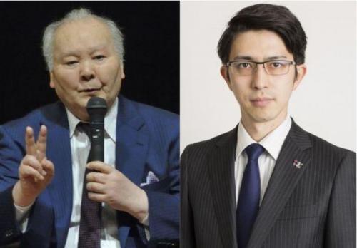 加藤一二三さんと木村草太さん(©岩沢蘭)