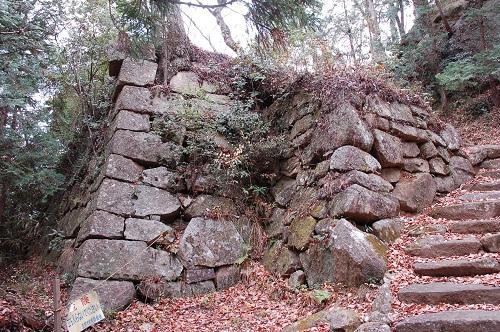 笠間城 八幡台櫓 (現・真浄寺七面堂)