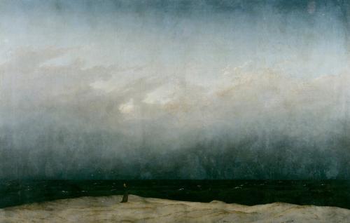「海辺の僧侶」フリードリヒ