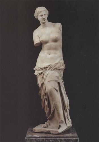 《ミロのヴィーナス》ルーヴル美術館