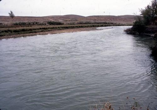 タラス川(1989年、林撮影)