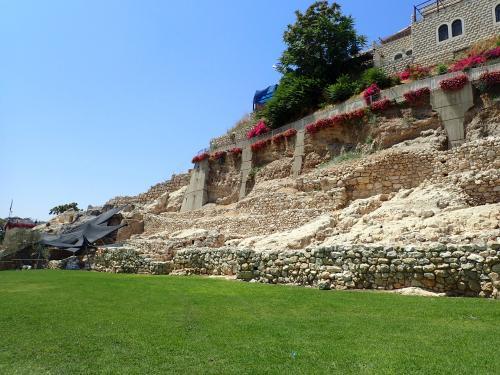 ダビデの町の城壁