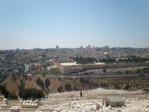 神殿の丘全景