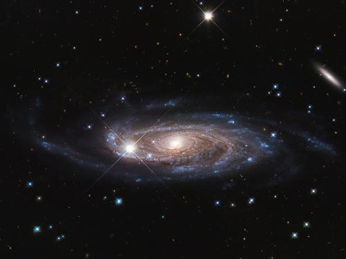 NASA's Hubble Surveys Gigantic Galaxy,