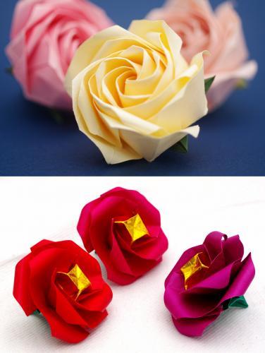 「薔薇N5・さざんか」
