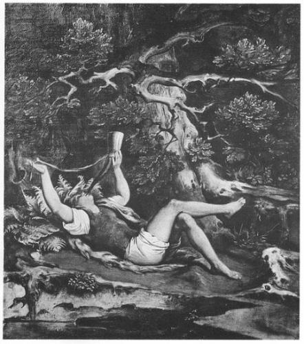 モーリッツ・フォン・シュヴィント画「子供の不思議な角笛」1845‐60年頃作成
