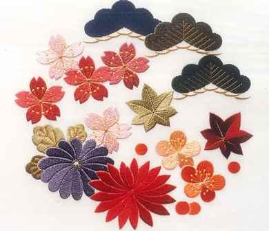 日本刺繍初回の作品