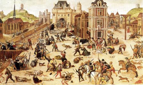 宗教改革サン・バルテルミの虐殺