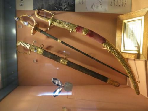 エクスマス卿の剣と勲章(アルジェ戦争時)