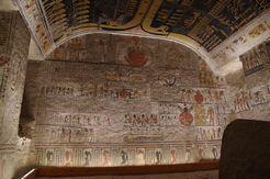 ラメセス6世王墓玄室(王家の谷 )