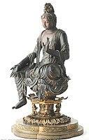 京 都 宝菩提院 如意輪観音半跏像