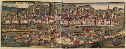15世紀末の様子 ニュルンベルク年代記より