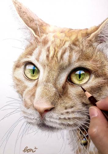 ネコ(講師作品例)