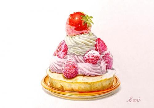 ケーキ(講師作品例)