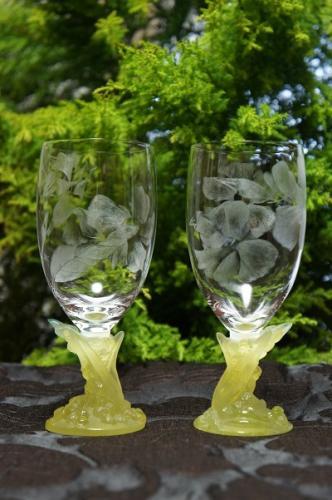 伊藤啓子著『グラスリッツェン美しい手彫りガラスの世界』