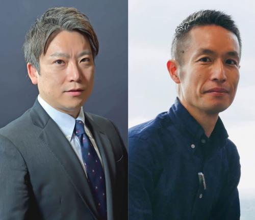 左:山本教授/右:小暮シドニー特派員
