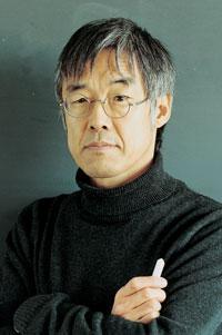 高橋源一郎氏~撮影・TONY TANIUCHI