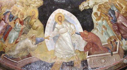 主の復活(フレスコ画イコン)